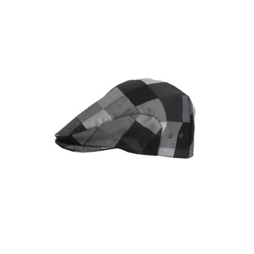 Pracovní čepice placatá Le Chef bekovka vzor nátisku - barva kostka  šedo-bílá 435b4105e0