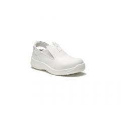 f9bb58095cf e.s. S1 bezpečnostní kuchařská obuv Toffeln SafetyLite zpevněná špička -  barva bílá