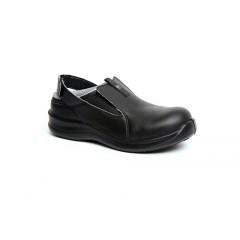 72ae6e38bfa e.s. S1 bezpečnostní kuchařská obuv Toffeln SafetyLite zpevněná špička -  barva černá