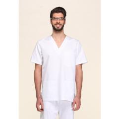 Lékařská košile bílá Giblor´s krátký rukáv 100% bavlna pánská i dámská -  barva 04cc2d4397