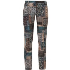Kalhoty dámské Layla Giblor´s Slim Fit - barva vzor d63393f6c5