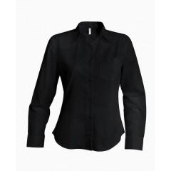 Dámská košile dlouhý rukáv výprodej - barva černá 311391f45f